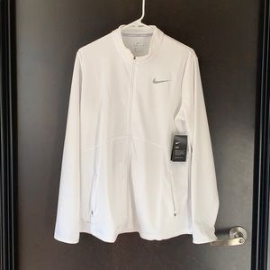 White Nike Golf ZipUp - Never Worn